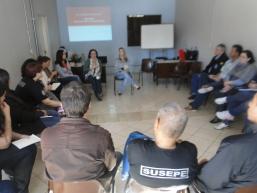 Instituto Penal Irmão Miguel Dario recebe o projeto de Justiça Restaurativa, iniciativa do DSEP e Escola Penitenciária, da Susepe